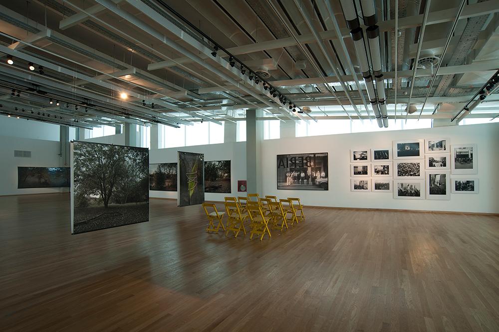 Exposición en la Sala PAyS - Parque de la Memoria